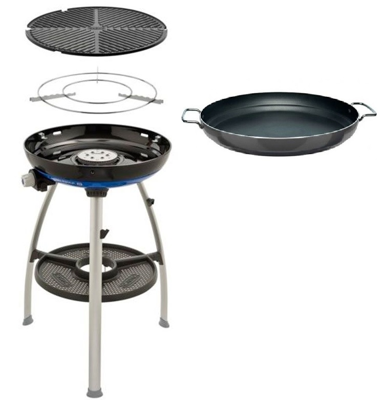 Cadac Paella Pan 47 Cm.Cadac Carri Chef 2 Barbecue Paella Pan 47cm